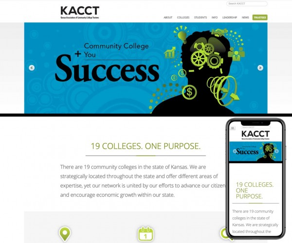 Umbrella website for KACCT.